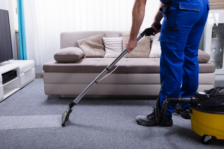 Carpet cleaning for fast house sale