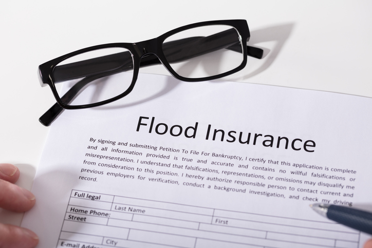 Buying homes on flood plains — insurance